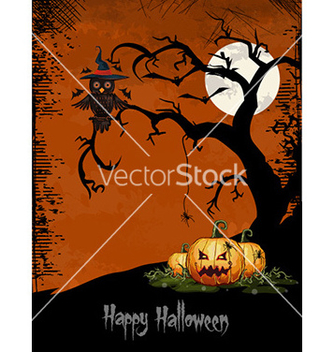 Free halloween background vector - Free vector #227453