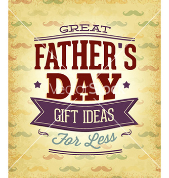 Free fathers day vector - Free vector #227763