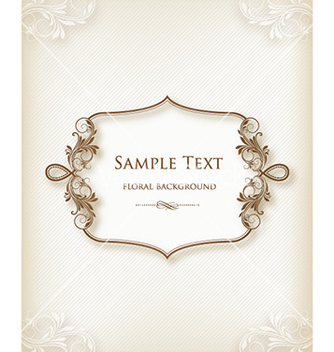 Free floral frame vector - Kostenloses vector #227813