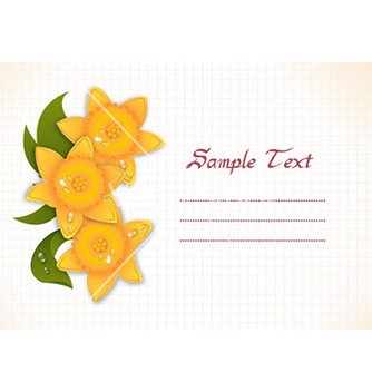 Free spring floral background vector - Free vector #228233