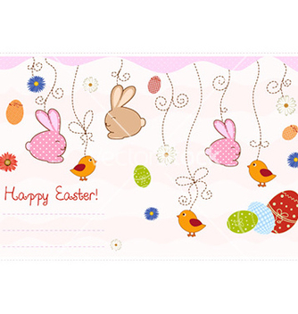Free easter background vector - Kostenloses vector #228323