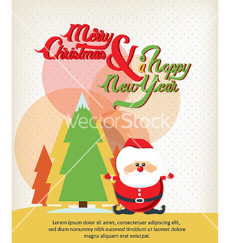 Free happy new year vector - vector #228343 gratis