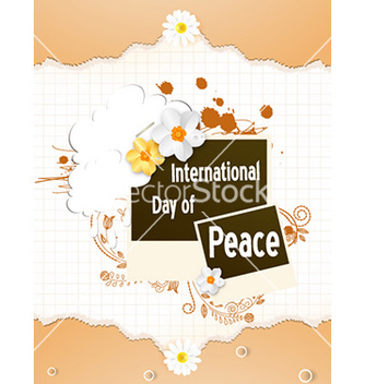 Free international day of peace vector - Kostenloses vector #228453