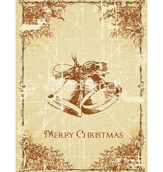 Free christmas with bells vector - vector gratuit #228853