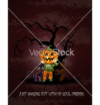 Free halloween background vector - бесплатный vector #228993