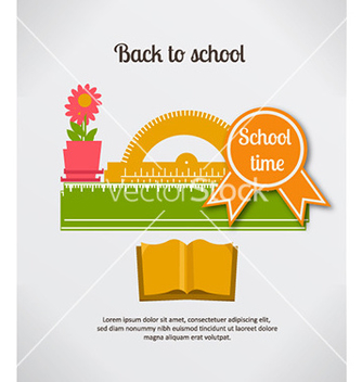 Free back to school vector - бесплатный vector #229003