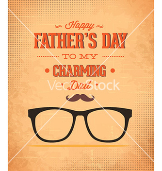 Free fathers day vector - Free vector #229303