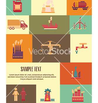 Free with industrial elements vector - Free vector #229343