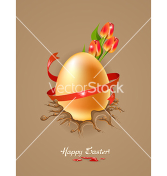 Free easter background vector - vector gratuit #229643