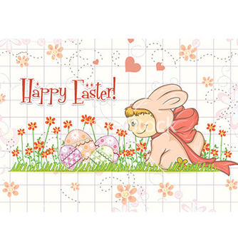 Free easter background vector - Free vector #229663