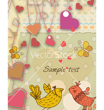 Free valentines day background vector - vector #230303 gratis