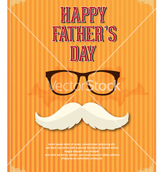 Free fathers day vector - Free vector #230313