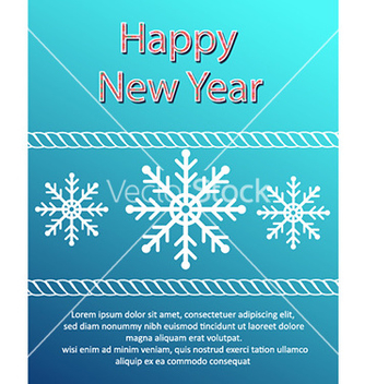 Free happy new year vector - vector #230513 gratis