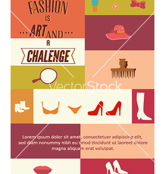 Free with fashion elements vector - бесплатный vector #230603