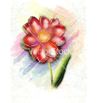 Free watercolor floral background vector - Free vector #230613
