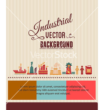 Free with industrial elements vector - Free vector #230633