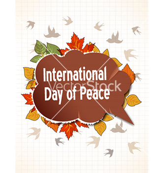 Free international day of peace with torn paper vector - Free vector #230713