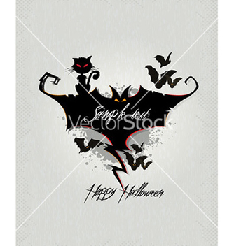 Free halloween background vector - бесплатный vector #230763