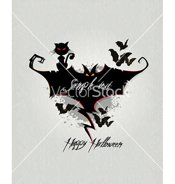 Free halloween background vector - Free vector #230763