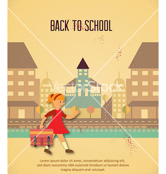 Free back to school vector - vector gratuit #231013