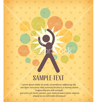 Free with people icon vector - vector #231033 gratis