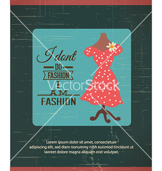 Free with fashion typography and lady dress vector - vector #231063 gratis
