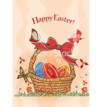 Free basket of eggs vector - Kostenloses vector #231233