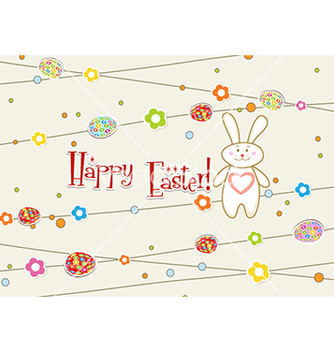 Free easter background vector - Kostenloses vector #231333