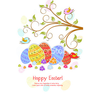 Free easter background vector - Kostenloses vector #231463