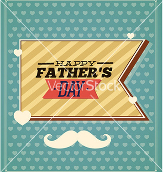 Free fathers day vector - Free vector #231603