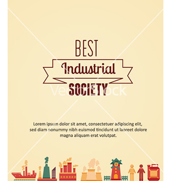 Free with industrial elements vector - Free vector #231623