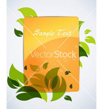 Free spring frame vector - Free vector #231953
