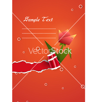 Free spring floral background vector - vector #232223 gratis