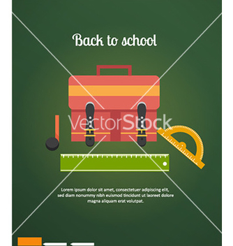 Free back to school vector - vector gratuit #232383