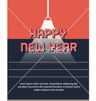 Free happy new year vector - vector #232443 gratis