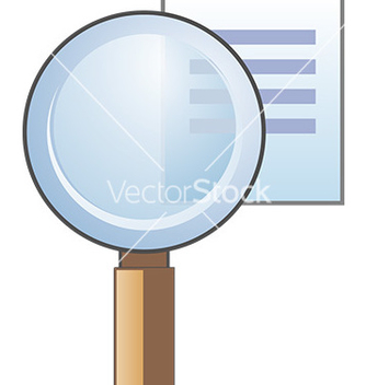 Free search icon vector - vector #232613 gratis
