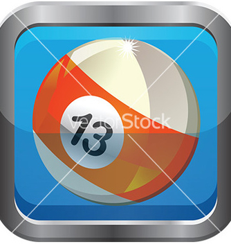 Free pool ball icon vector - Kostenloses vector #232723