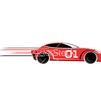 Free race car vector - vector gratuit #232973