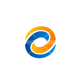 Free circle abstract technology balance business logo vector - бесплатный vector #233083