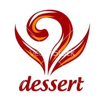 Free abstract logo dessert and pastries vector - Kostenloses vector #233143