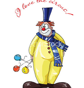 Free clown vector - vector #233163 gratis