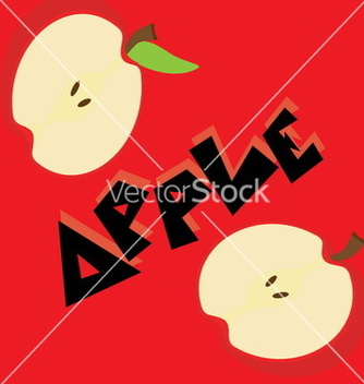 Free apple wallpaper vector - бесплатный vector #234033