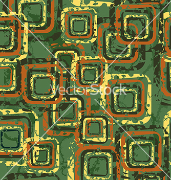 Free pattern with squares on a green background vector - vector gratuit #234093