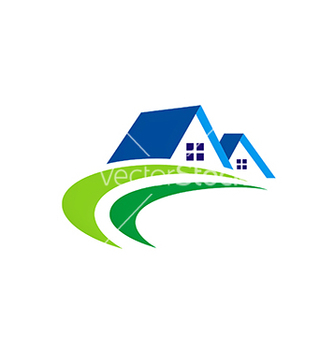 Free house realty abstract construction logo vector - Kostenloses vector #234133