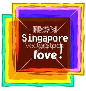 Free singapore love vector - vector #234273 gratis
