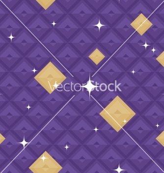 Free purple geometric pattern with stars vector - бесплатный vector #234313