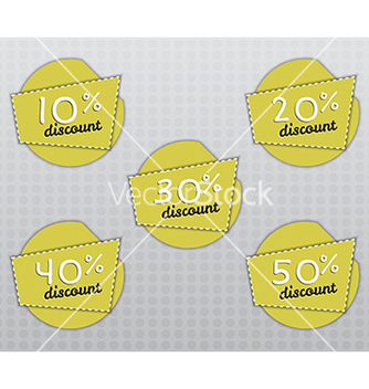 Free sale stickers and labels with sale up to 10 50 vector - бесплатный vector #234343