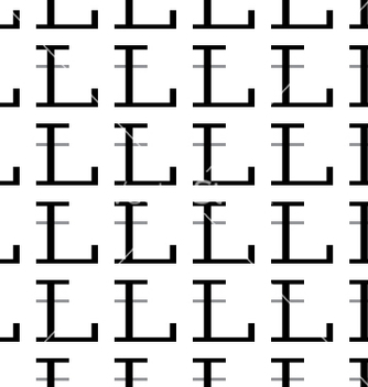 Free pattern letter l vector - Kostenloses vector #234383