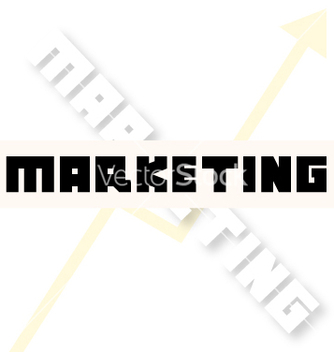 Free marketing font creative vector - vector #234483 gratis
