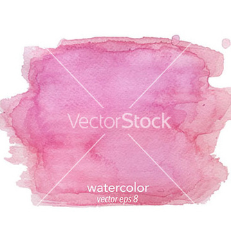 Free abstract watercolor hand paint texture vector - vector #234543 gratis